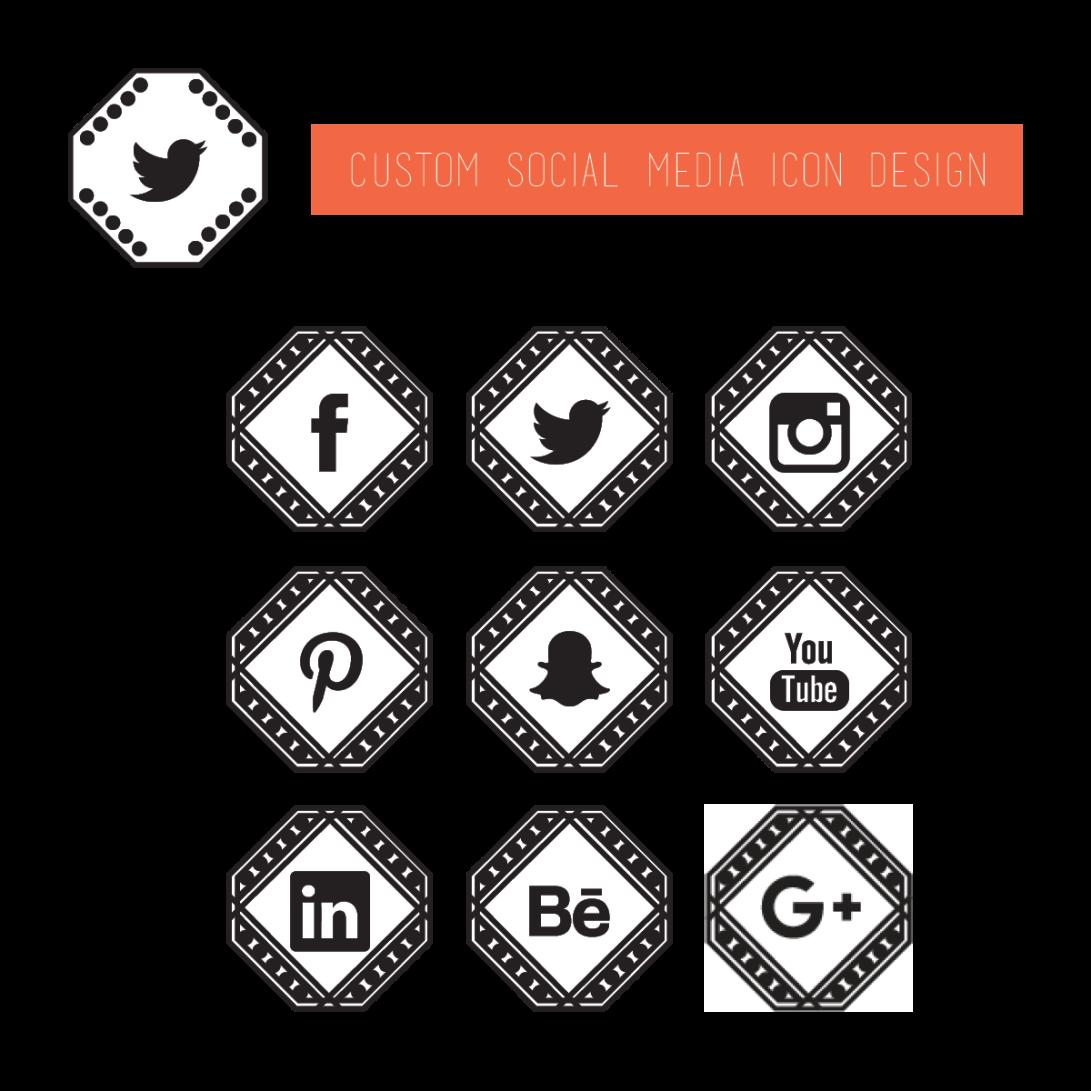 Custom Social Media Icons