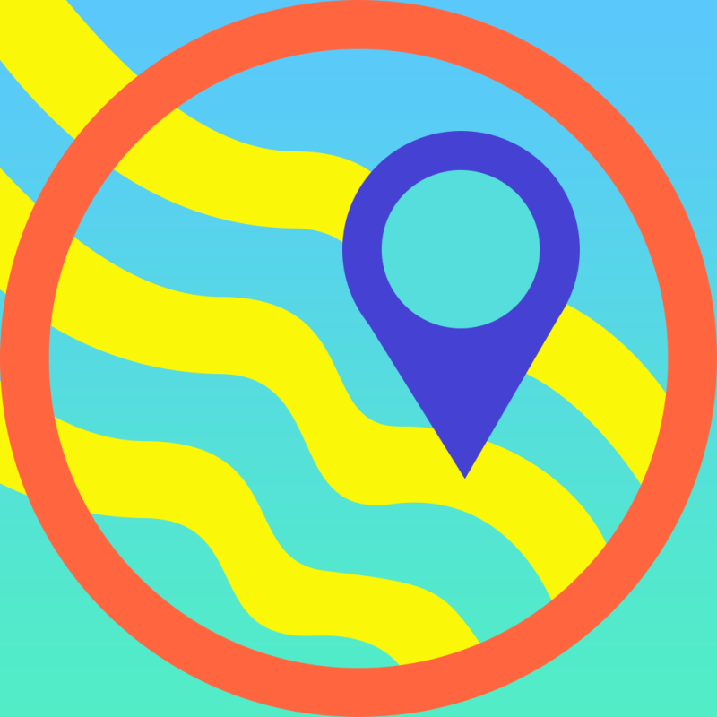 Waterpark Amusement Park App Icon